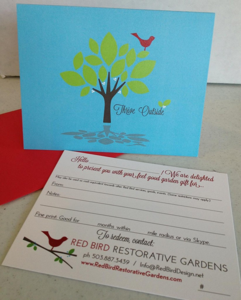 Red Bird Feel-Good Garden Gift Card