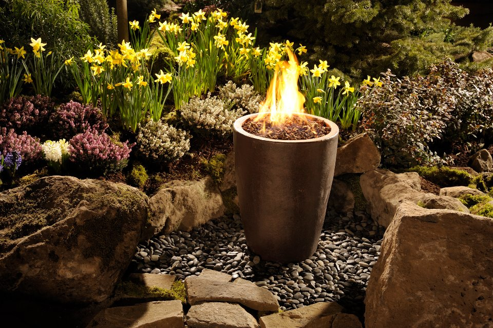 Fire Pot from Home and Garden Show