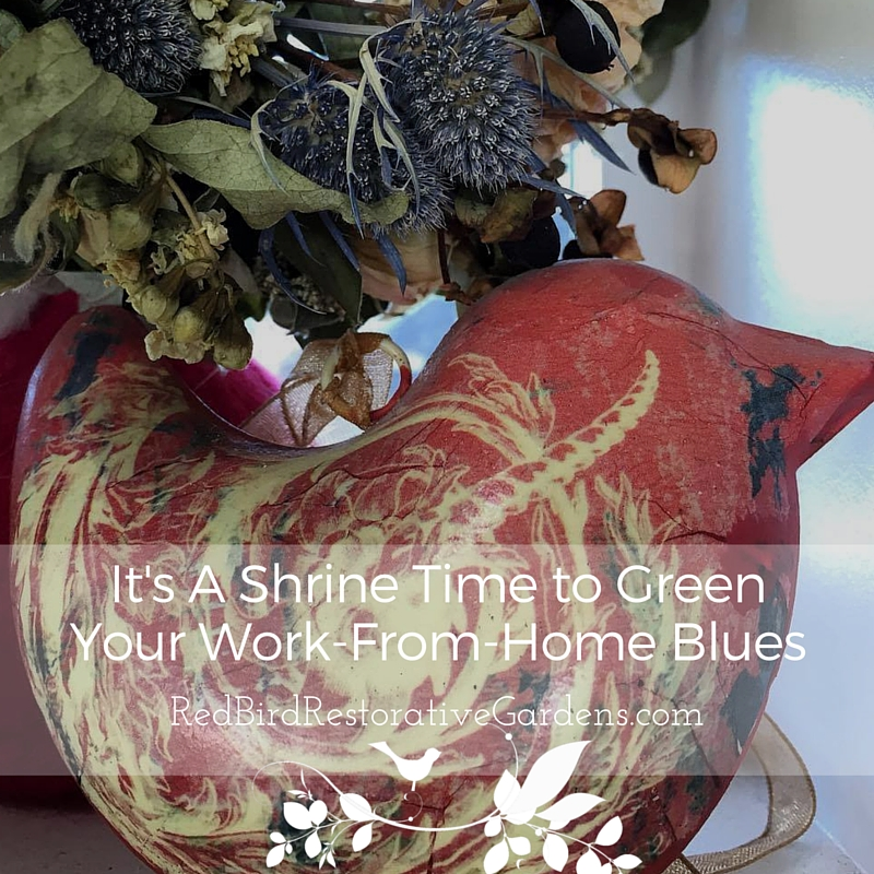 Shrine Time to Green Your Work From Home Blues_Cover